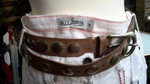 B Belt Leather Belt sand brown