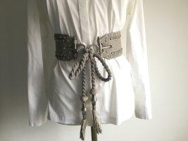no name Waist Belt light grey-silver-colored
