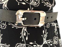 Dolce & Gabbana Cintura di pelle grigio scuro