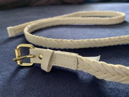 H&M Braided Belt natural white