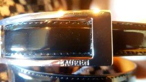 Ralph Lauren Cinturón de cuero negro