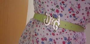 Dolce & Gabbana Hebilla del cinturón gris verdoso-verde claro