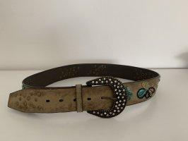 Esprit Faux Leather Belt beige