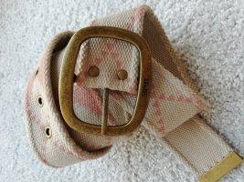 Edc Esprit Cinturón de tela beige-rosa claro
