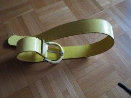 Gürtel, gelb, schick
