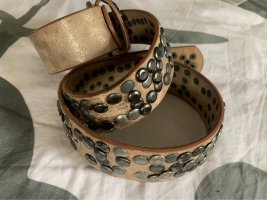 Studded Belt rose-gold-coloured-bronze-colored