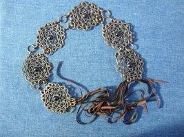 Hip Belt bronze-colored metal