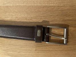 Hugo Boss Leather Belt dark brown