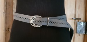 Belt Buckle silver-colored-grey