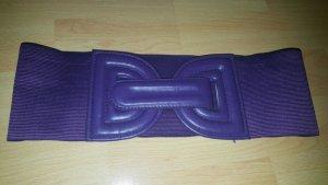 Vintage Cintura vita viola scuro Tessuto misto