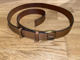 Marc O'Polo Leather Belt cognac-coloured-brown