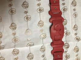 Laurèl Leather Belt red leather