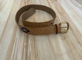 Pull & Bear Cintura in ecopelle multicolore