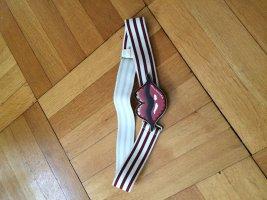 Cintura in tela multicolore Tessuto misto