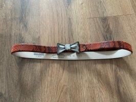 Vanzetti Cinturón de cuero multicolor