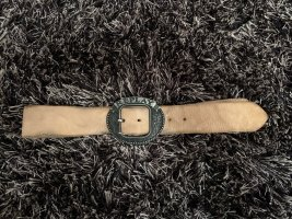 Replay Leather Belt beige