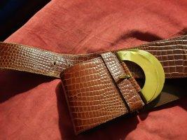 Adolf Waist Belt gold-colored-cognac-coloured