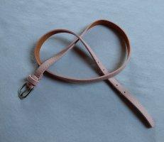 Gürtel rosa Leder Neu 100cm