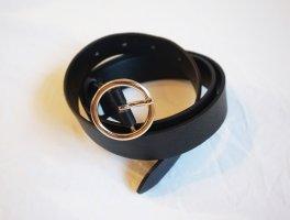 Gürtel schwarz, 100cm