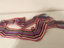 Gürtel/Stoffschal mit langen Fransen