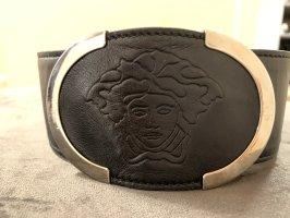 Versace Cinturón pélvico negro
