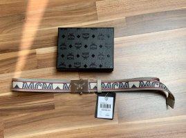 MCM Cintura in tela multicolore