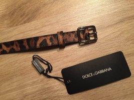 Dolce & Gabbana Ceinture en cuir multicolore