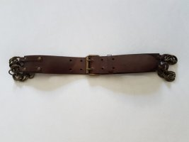 H&M Faux Leather Belt brown