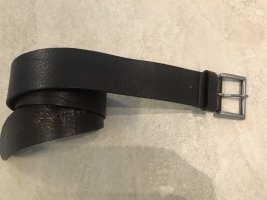 Marc O'Polo Leather Belt black brown leather