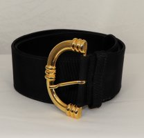 Max Mara Waist Belt black-sand brown