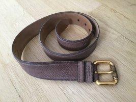Prada Cintura di pelle marrone Pelle