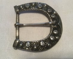 Buckles & Belts Belt Buckle light grey metal