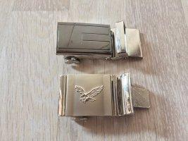 Gürtelschnallen silber Adler, klassisch Business