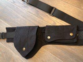 Handmade Buiktas zwart Katoen