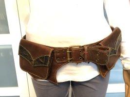 Gürteltasche Bauchtasche Sidebag Leder Larp Mittelalter