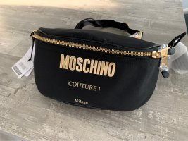 Moschino Bumbag black-gold-colored