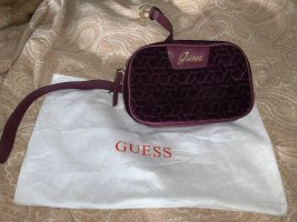 Guess Bumbag brown violet-gold-colored