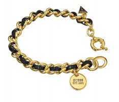 Guess Gold Chain black-gold-colored