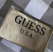 Guess Clutch gold-colored
