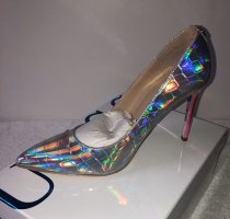 Guess High Heels silver-colored