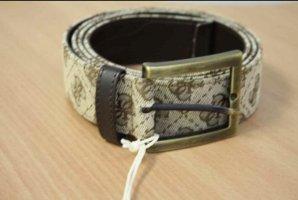 Guess Cinturón de tela crema