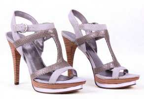 Guess High Heels silver-colored-bronze-colored