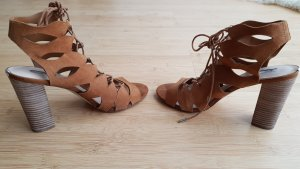Guess Strapped Sandals camel leather