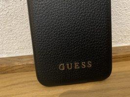 Guess Custodia per cellulare nero-oro