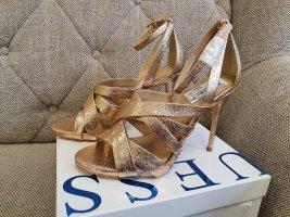 Guess High Heels gr. 41 rosè Stiletto sandalen Plateau