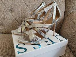 Guess High Heels gr. 41 Silber Stiletto sandalen Plateau