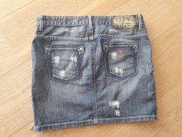 GUESS Jeans Rock Gr. 36 denim blau Jeans