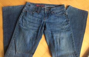 Guess Boot Cut Jeans blue cotton