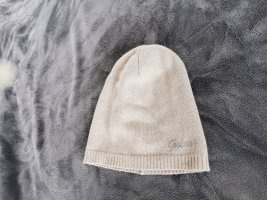 Guess Sombrero de punto beige claro
