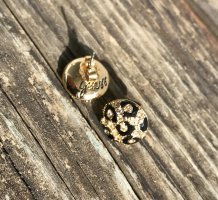 Guess Ear stud gold-colored-black